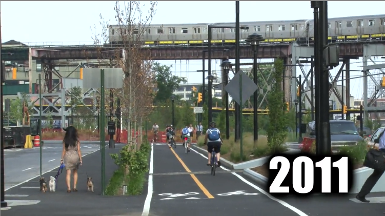 New York Fahrradstadt