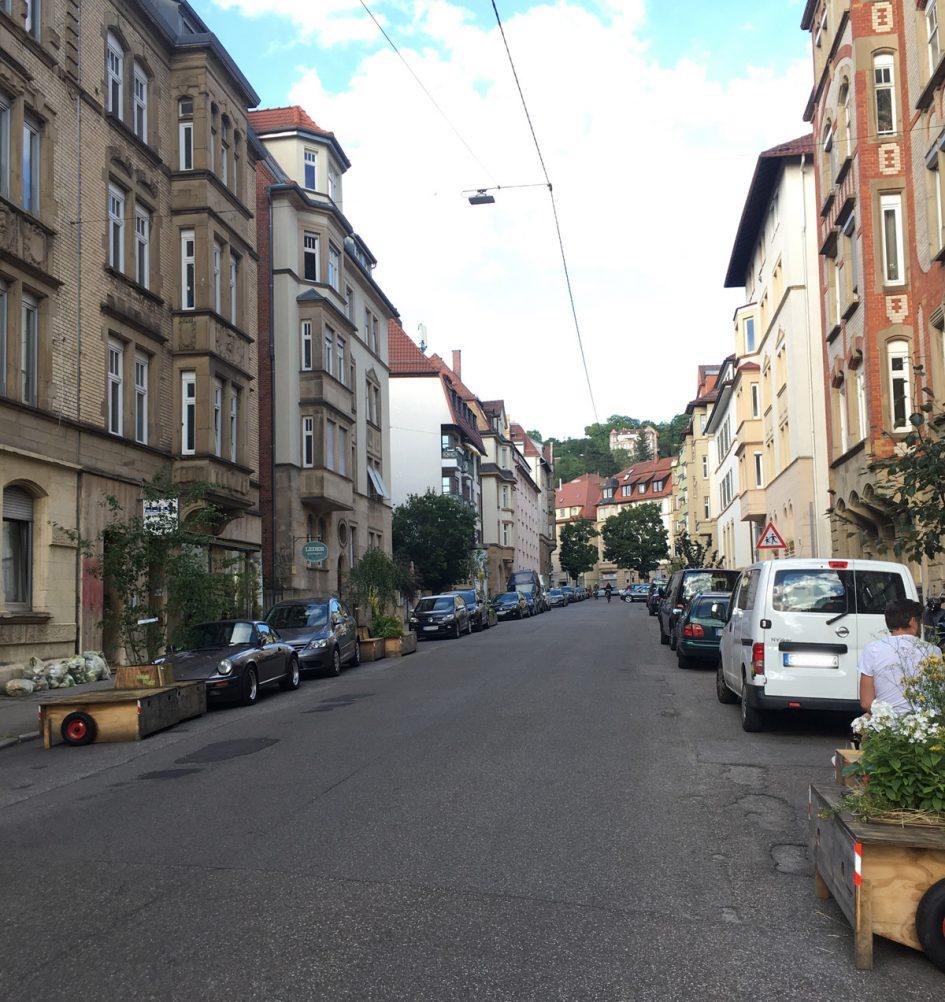 Wanderbaumallee in der Liststraße